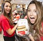 Ricki-Lee helping out for McHappy Day 2015