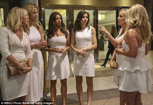 Cancer confrontation: During the dramatic season finale Vicki's RHOC co-stars confronted her over Brooks Ayers' cancer diagnosis