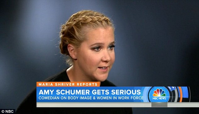 New show: Her struggles for acceptance both her own and also when trying to fit within Hollywood, now forms part of her HBO special, Amy Schumer: Live at the Apollo, which premieres October 17