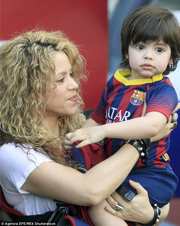 Looking up to daddy! In a new interview with MadeForMums, Shakira has revealed that her young son Milan already has his heart set on becoming a football player