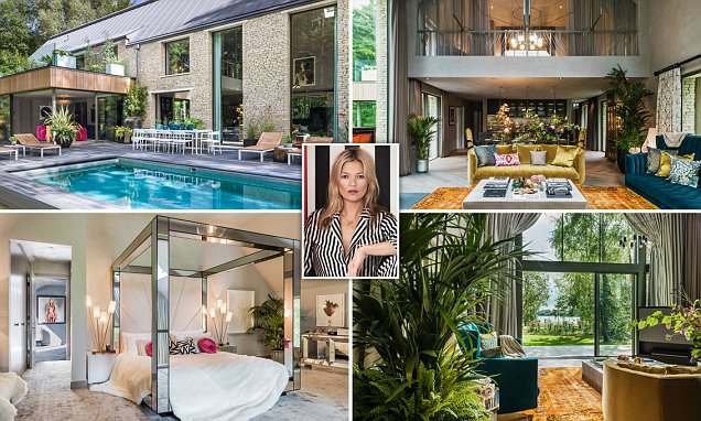 Kate Moss proves she's a woman of many talents as she turns interior designer