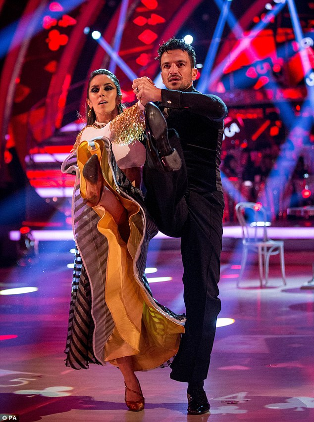 Leg-ends! Last up were Peter Andre and Janette Manrara, who also scored a collective 32 points