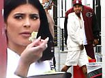 Tyga arrived with bags filled, presumably with gifts, for his son, King, at a birthday party held at the Racer's Edge Indoor Karting.  Kanye West and Nori attended, along with Kourtney Kardashian and her children, Mason, Penelope and Reign.  Friday, October 16, 2015 X17online.com