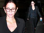 143779, Courteney Cox seen attending an event starring David Arquett at the Manitoban Theater in LA. Los Angeles, California - Thursday October 15, 2015. Photograph: � MHD, PacificCoastNews. Los Angeles Office: +1 310.822.0419 sales@pacificcoastnews.com FEE MUST BE AGREED PRIOR TO USAGE