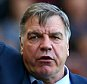 LONDON, ENGLAND - MAY 16: Sam Allardyce the West Ham manager reacts during the Barclays Premier League match between West Ham United and Everton at Boleyn Ground on May 16, 2015 in London, England.  (Photo by Matthew Lewis/Getty Images)
