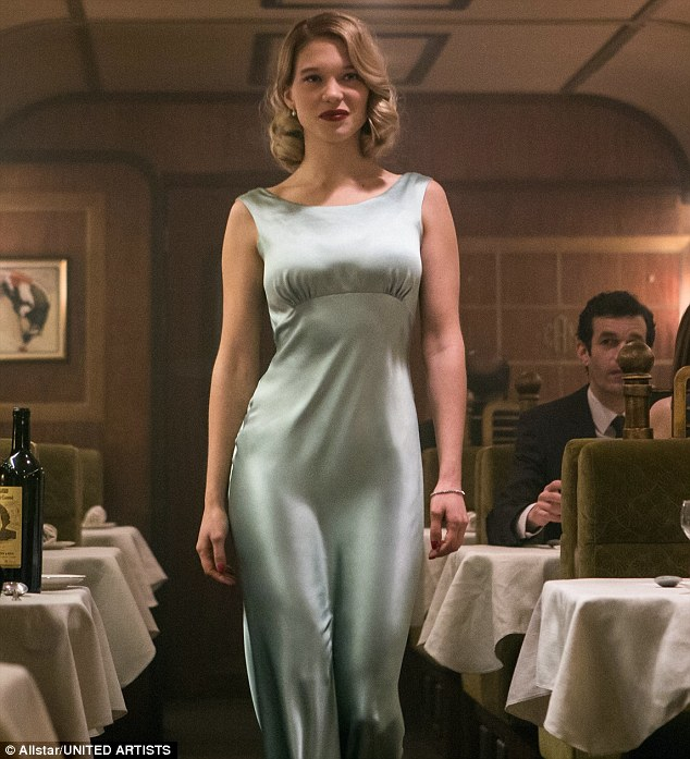 'My character is a doctor, not a super-action girl, so in theory I didn't need to be that fit but I did it for myself, to be comfortable in my body,' saidLéa Seydoux of her role aspsychologist Dr Madeleine Swann in Spectre