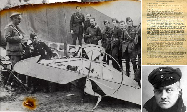 Mystery of who killed the Red Baron Baron Manfred von Richthofen is finally solved