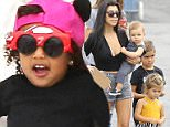 Tyga's son, King celebrated his birthday party at the Racer's Edge Indoor Karting.  Kanye West and Nori attended, along with Kourtney Kardashian and her children, Mason, Penelope and Reign.  Mason and Nori were spotted on the inflatable slide, wearing racing shades, and joined by Chris Brown's daughter, Royalty.  Friday, October 16, 2015 X17online.com