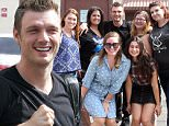 Hollywood, CA - Nick Carter and Sharna Burgess greet their fans as they arrive at the studio in Hollywood for Saturday Practice.\n \nAKM-GSI           October 17, 2015\nTo License These Photos, Please Contact :\n \n Steve Ginsburg\n (310) 505-8447\n (323) 423-9397\n steve@akmgsi.com\n sales@akmgsi.com\n \n or\n \n Maria Buda\n (917) 242-1505\n mbuda@akmgsi.com\n ginsburgspalyinc@gmail.com