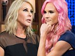 WATCH WHAT HAPPENS LIVE -- Pictured: Vicki Gunvalson -- (Photo by: Charles Sykes/Bravo/NBCU Photo Bank via Getty Images)