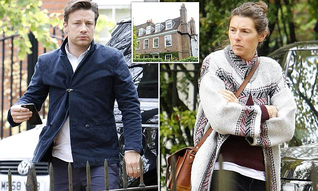 Jamie Oliver and wife Jools visit new £10m home weeks after burglary