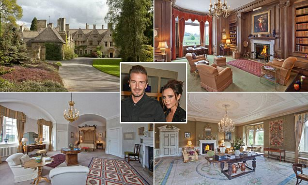 David and Victoria Beckham 'snap up £27m country estate' in Gloucestershire
