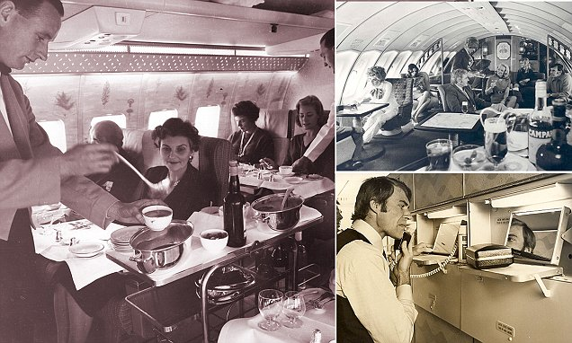 The golden age of Australian airline travel revealed
