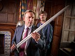 BENTLEY PRODUCTIONS PRESNTS:\n\nMIDSOMER MURDERS\n\nCHRISTMAS HAUNTING.\n\n\nPicture shows:   GWILYM LEE as DS Charlie Nelson and NEIL DUDGEON as DCI John Barnaby.\n\n\nPhotographer: MARK BOURDILLION\n\n© ITV\n\nAll images are Copyright ITV and may only be used in relation to MIDSOMER MURDERS.  For more info please contact Pat Smith at patrick.smith@itv.com or 02071573044
