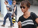 Halle Berry attends a Halloween festival with her husband and son\nFeaturing: Halle Berry\nWhere: Los Angeles, California, United States\nWhen: 17 Oct 2015\nCredit: WENN.com