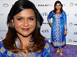 "Actress Mindy Kaling attends the 2015 PaleyFest New York ""The Mindy Project"" panel discussion at The Paley Center for Media on Saturday, Oct. 17, 2015, in New York. (Photo by Evan Agostini/Invision/AP)"