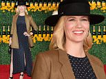PACIFIC PALISADES, CA - OCTOBER 17:  Actress January Jones attends the Sixth-Annual Veuve Clicquot Polo Classic at Will Rogers State Historic Park on October 17, 2015 in Pacific Palisades, California.  (Photo by Jason Merritt/Getty Images for Veuve Clicquot)