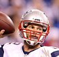 INDIANAPOLIS, IN - OCTOBER 18:  Tom Brady #12 of the New England Patriots throws a pass during the game against the Indianapolis Colts at Lucas Oil Stadium on October 18, 2015 in Indianapolis, Indiana.  (Photo by Andy Lyons/Getty Images)