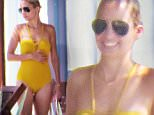 October 17, 2015\n \n Reality star Nicole Richie and some friends enjoy a day relaxing poolside in Cabo San Lucas, Mexico. Nicole was rocking a yellow one piece bathing suit.\n \n Non-Exclusive\n UK RIGHTS ONLY\n \n Pictures by : FameFlynet UK � 2015\n Tel : +44 (0)20 3551 5049\n Email : info@fameflynet.uk.com