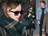 ***MANDATORY BYLINE TO READ INFPhoto.com ONLY***\nDakota Johnson & Boyfriend Matthew Hitt are seen bundling up in a chilly night in downtown New York City.\n\nPictured: Dakota Johnson, Matthew Hitt\nRef: SPL1154872  181015  \nPicture by: PapJuice/INFphoto.com\n\n