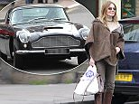 18.OCT.2015 - LONDON - UK\nFORMER SPICE GIRL GERI HALLIWELL SPENT SUNDAY AFTERNOON SHOPPING IN HAMPSTEAD. WHEN SHE FINISHED, HUSBAND CHRISTIAN HORNER STOPPED IN THE MIDDLE OF THE ROAD TO PICK HER UP IN A VINTAGE ASTON MARTIN DB5 AS FAVOURED BY JAMES BOND\nBYLINE MUST READ : XPOSUREPHOTOS.COM\n***UK CLIENTS - PICTURES CONTAINING CHILDREN PLEASE PIXELATE FACE PRIOR TO PUBLICATION***\nUK CLIENTS MUST CALL PRIOR TO TV OR ONLINE USAGE PLEASE TELEPHONE 0208 344 2007