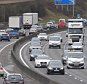The Easter getaway gets under way ion the M27 near Portsmouth, Hampshire, Pic Mike Walker, Mike Walker Pictures