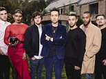 ***EMBARGOED UNTIL 00.01 TUESDAY 20TH OCTOBER 2015*** ***MANDATORY BYLINE TO READ: Syco/Thames/Corbis/Dymond*** Contestants seen performing in front of their mentors at Judges House's. Pictured is: Nick Grimshaw and final 6 Boys