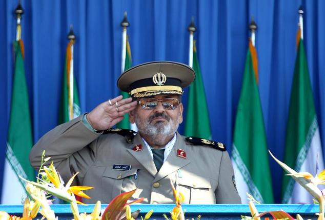 "Armed Forces chief Hassan Firouzabadi (pictured in Tehran in 2010) congratulated the Iranian leader on the ""success of the team of Iranian negotiators and th..."