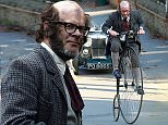 """Picture Shows: Harry Hill  October 08, 2015\n \n **NO WEB USE UNTIL 4PM OCTOBER 18TH 2015**\n **MINIMUM WEB FEE £400**\n \n Comedian Harry Hill spotted on the set of the 2015 Christmas Special movie of """"Further Adventures of Professor Branestawm"""", being filmed in Southern England.\n \n **NO WEB USE UNTIL 4PM OCTOBER 18TH 2015**\n **MINIMUM WEB FEE £400**\n \n Exclusive All Round\n WORLDWIDE RIGHTS\n \n Pictures by : FameFlynet UK © 2015\n Tel : +44 (0)20 3551 5049\n Email : info@fameflynet.uk.com"""
