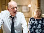 WARNING: Embargoed for publication until 00:00:01 on 13/10/2015 - Programme Name: EastEnders - TX: 19/10/2015 - Episode: 5157 (No. n/a) - Picture Shows: ***FORTNIGHTLIES PLEASE DO NOT USE (SOAP LIFE and ALL ABOUT SOAP).. Pam tries to get to the bottom of what is wrong with Les and she is stunned to hear the truth.  Les Coker (ROGER SLOMAN), Pam Coker (LIN BLAKLEY) - (C) BBC - Photographer: Guy Levy