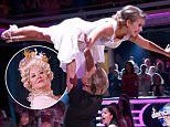"""Dancing with The Stars October 19, 2015\nThe remaining couples perform iconic dance routines from movies and music videos. One couple is eliminated.\nKim Zolciak Biermann, Alex Skarlatos, Alexa PenaVega, Andy Grammer, Bindi Irwin, Carlos PenaVega, Chaka Khan, Gary Busey, Hayes Grier, Nick Carter, Paula Deen, and Tamar Braxton compete for this season's title.\nU.S. reality show hosted by Tom Bergeron and Erin Andrews; Julianne Hough, Bruno Tonioli, and Carrie Ann Inaba make up the judges panel, based on the British series """"Strictly Come Dancing,"""" where celebrities partner up with professional dancers and compete against each other in weekly elimination rounds to determine a winner\n"""