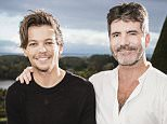 ***EMBARGOED UNTIL 00.01 TUESDAY 20TH OCTOBER 2015*** ***MANDATORY BYLINE TO READ: Syco/Thames/Corbis/Dymond*** Contestants seen performing in front of their mentors at Judges House's. Pictured is: Simon Cowell and Louis Tomlinson.