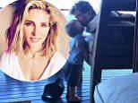 I'm melting Elsa pataky shares heartwarming snap of hunky husband chris hemsworth kissing their young son