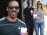 Picture Shows: Eddie Murphy  October 19, 2015\n \n Eddie Murphy and his girlfriend Paige Butcher grab some coffee while out and about in Studio City, California.\n \n Non Exclusive\n UK RIGHTS ONLY\n \n Pictures by : FameFlynet UK � 2015\n Tel : +44 (0)20 3551 5049\n Email : info@fameflynet.uk.com