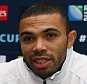 LONDON, ENGLAND - OCTOBER 20:  Bryan Habana during the South African national rugby team media briefing at Radisson Blu Edwardian, Guildford on October 20, 2015 in London, England. (Photo by Steve Haag/Gallo Images)
