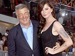 """NEW YORK, NY - JULY 27:  Actor Alec Baldwin and daughter Ireland Baldwin attend the """"Mission Impossible: Rogue Nation"""" New York premiere at Times Square on July 27, 2015 in New York City.  (Photo by Jim Spellman/WireImage)"""