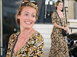 Cat Deeley shops at Barneys New York with her parents in Beverly Hills  Pictured: Cat Deeley Ref: SPL1155644  191015   Picture by: LA Photo Lab  Splash News and Pictures Los Angeles: 310-821-2666 New York: 212-619-2666 London: 870-934-2666 photodesk@splashnews.com