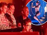 Permission YES Mel gibson Vince Vaughn watching VELVET  Andrew Garfield, Mel Gibson & Vince Vaughn watching Velvet at Sydney Opera house