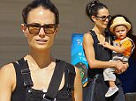 EXCLUSIVE: Jordana Brewster takes her son Julian to Mr. Bones Pumpkin Patch. Julian was wearing tan overalls with an orange tshirt and straw cap. Jordana was also wearing black denim overalls with sandals. Julian rode on top of a wooden horse.\n\nPictured: Jordana Brewster, Julian Form-Brewster\nRef: SPL1147602  181015   EXCLUSIVE\nPicture by:  Splash News\n\nSplash News and Pictures\nLos Angeles: 310-821-2666\nNew York: 212-619-2666\nLondon: 870-934-2666\nphotodesk@splashnews.com\n