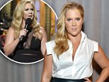 NEW YORK, NY - SEPTEMBER 14:  Amy Schumer poses backstage at the Zac Posen Spring 2016 fashion show during New York Fashion Week at Vanderbilt Hall at Grand Central Terminal on September 14, 2015 in New York City.  (Photo by Neilson Barnard/Getty Images)