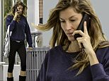 EXCLUSIVE: **PREMIUM EXCLUSIVE RATES APPLY** Gisele Bundchen, without makeup, and sporting boots, walks toward a Boston gym Tuesday morning.\n\nPictured: Gisele Bundchen\nRef: SPL1142929  201015   EXCLUSIVE\nPicture by: James Haynes/Splash News\n\nSplash News and Pictures\nLos Angeles: 310-821-2666\nNew York: 212-619-2666\nLondon: 870-934-2666\nphotodesk@splashnews.com\n