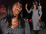 """NEW YORK, NY - OCTOBER 20:  Model Naomi Campbell is seen arriving at """"Club Up and Down""""on October 20, 2015 in New York City.  (Photo by Raymond Hall/GC Images)"""
