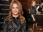LONDON, ENGLAND - OCTOBER 20:  Millie Mackintosh attends a cocktail reception hosted by Giles Deacon to celebrate the launch of the Giles/EDITION collection for Debenhams at The London Edition Hotel on October 20, 2015 in London, England.  \nPic Credit: Dave Benett