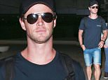 Picture Shows: Chris Hemsworth  October 20, 2015\n \n 'Thor' actor Chris Hemsworth cuts a casual figure as he is spotted arriving at LAX Airport in Los Angeles, California.\n \n The Australian heartthrob has been receiving good reviews for performance in the upcoming film 'In The Heart Of The Sea', which is based on the legendary story of Moby Dick.\n \n Exclusive  all round\n UK RIGHTS ONLY\n \n Pictures by : FameFlynet UK © 2015\n Tel : +44 (0)20 3551 5049\n Email : info@fameflynet.uk.com