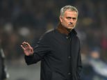Chelsea FC via Press Association Images MINIMUM FEE 40GBP PER IMAGE - CONTACT PRESS ASSOCIATION IMAGES FOR FURTHER INFORMATION. Chelsea manager Jose Mourinho gestures on the touchline
