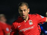 20th October 2015 - Sky Bet League 1 - Rochdale v Coventry City - Joe Cole of Coventry - Photo: Simon Stacpoole / Offside.