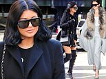October 20, 2015: Fashion forward sisters Kendall Jenner and Kylie Jenner step out together in New York City today and get some lunch at The Smile cafe in SoHo.\nMandatory Credit: Peter Cepeda/INFphoto.com Ref: infusny-259