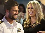 Mandatory Credit: Photo by Simon Ford/REX Shutterstock (5263053ai)  Kate Wright  'The Only Way is Essex' cast filming, Brentwood, Britain - 18 Oct 2015  A girls night out at Kosho, Romford is gatecrashed by Dan Edgar, James Bennewith and James Lock dressed in Naval uniforms as Dan and the boys re-enact a scene from Top Gun to get Kate back.