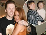 "LONDON, ENGLAND - SEPTEMBER 07:  Professor Green (L) and Millie Mackintosh attend the launch of ""Made: A Book of Style, Food and Fitness"" by Millie Mackintosh at Carousel London on September 7, 2015 in London, England.  ..Pic Credit: Dave Benett"