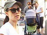 EXCLUSIVE TO INF.\nOctober 19, 2015: Lucy Liu is seen walking her dog and heading to the gym in New York City this morning. Liu was also seen putting her newborn son into his stroller for a walk with his nanny. This is the first time Liu has been photographed since son Rockwell Lloyd, was born via a gestational surrogate, on August 27, 2015.\nMandatory Credit: Elder Ordonez/INFphoto.com Ref: infusny-160